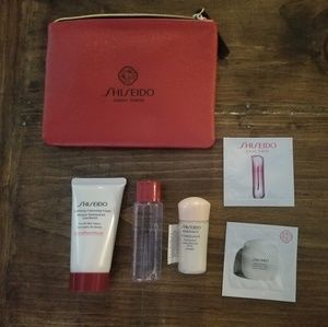 Shiseido Samples with Pouch